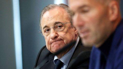 Florentino Pérez no pondrá freno a la salida de Zidane si ve que le faltan energías