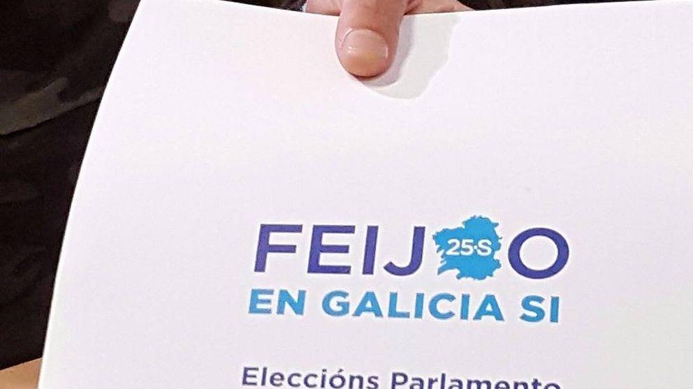 La Junta prohíbe a los interventores llevar carpetas con la foto de Feijóo