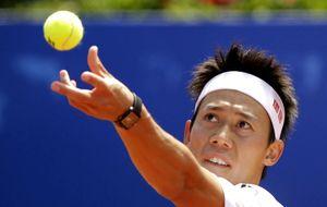 Nishikori tumba a Giraldo y es el primer asiático en ganar el Godó