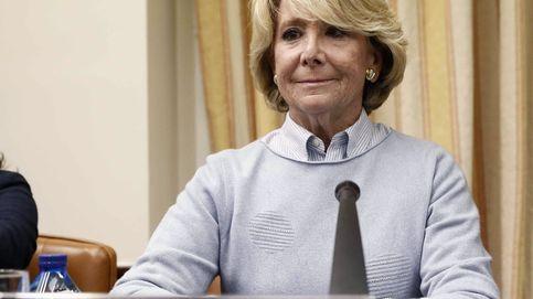Esperanza Aguirre se querella contra Bárcenas: Nunca he recibido un sobre de nadie