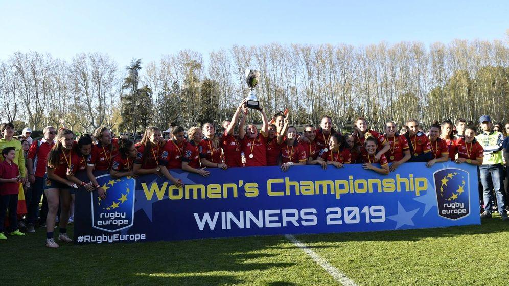 Foto: 'Rugen' como nunca: Las Leonas, nuevamente campeonas de Europa