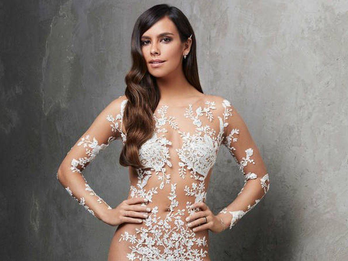 Foto: Cristina Pedroche, con el vestido de Nochevieja 2017.