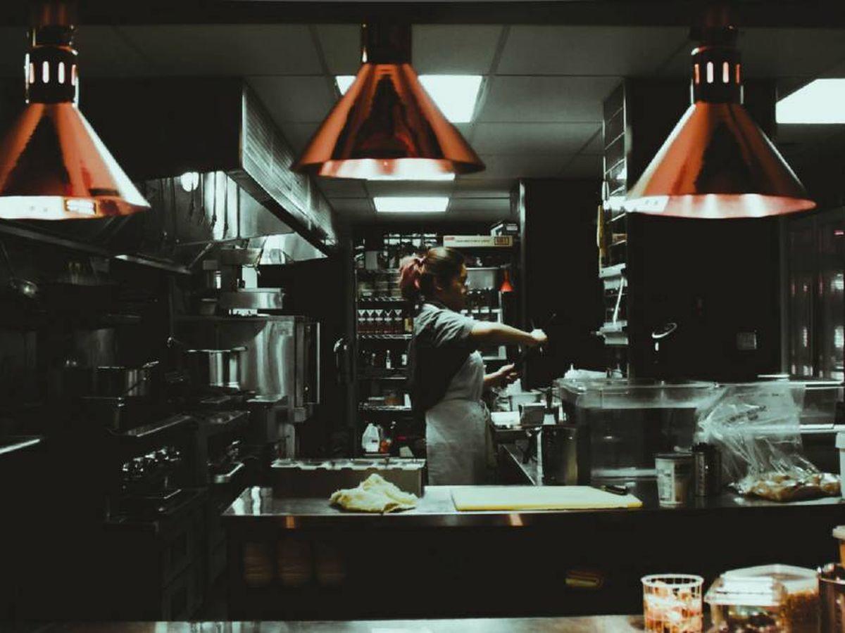 Foto: Una cocina no tan fantasma.