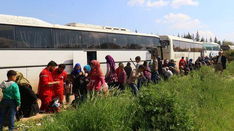 Un centenar de muertos en un atentado contra un convoy de evacuados en Alepo