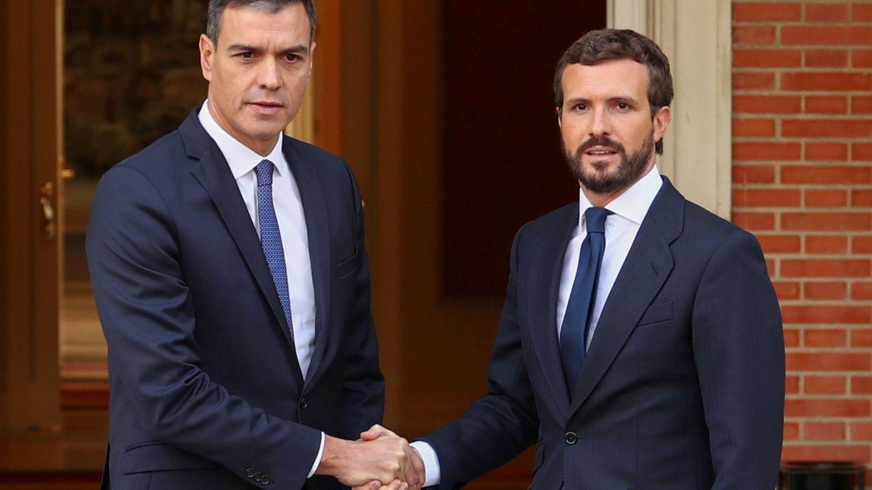 Foto: Sánchez y Casado en una foto de archivo. (Reuters)