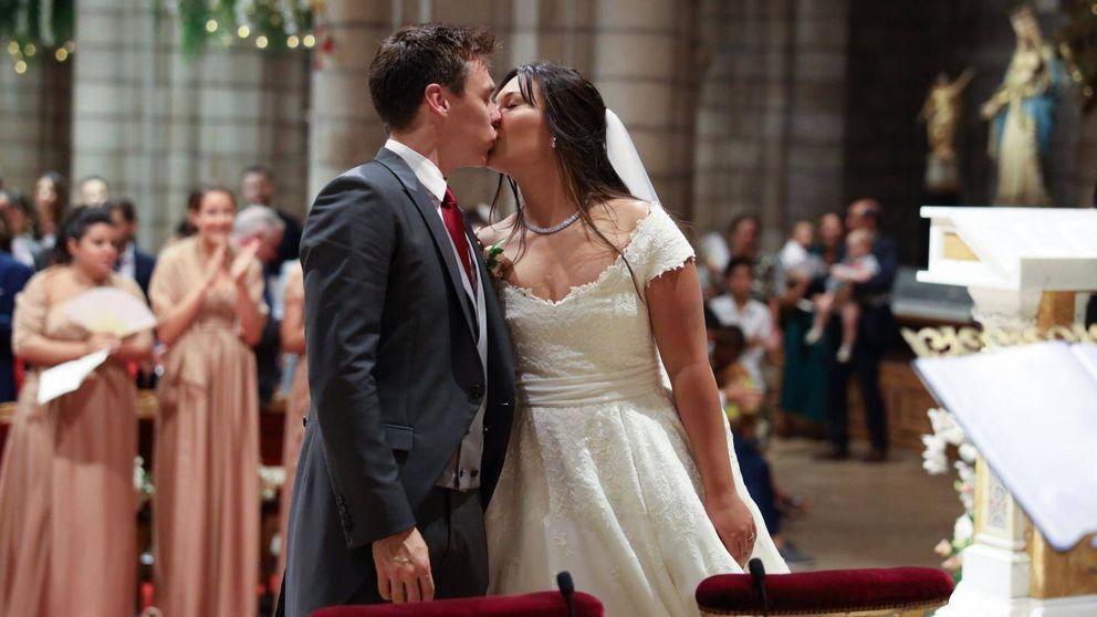 Las fotos oficiales de la boda religiosa de Louis Ducruet y Marie Chevallier