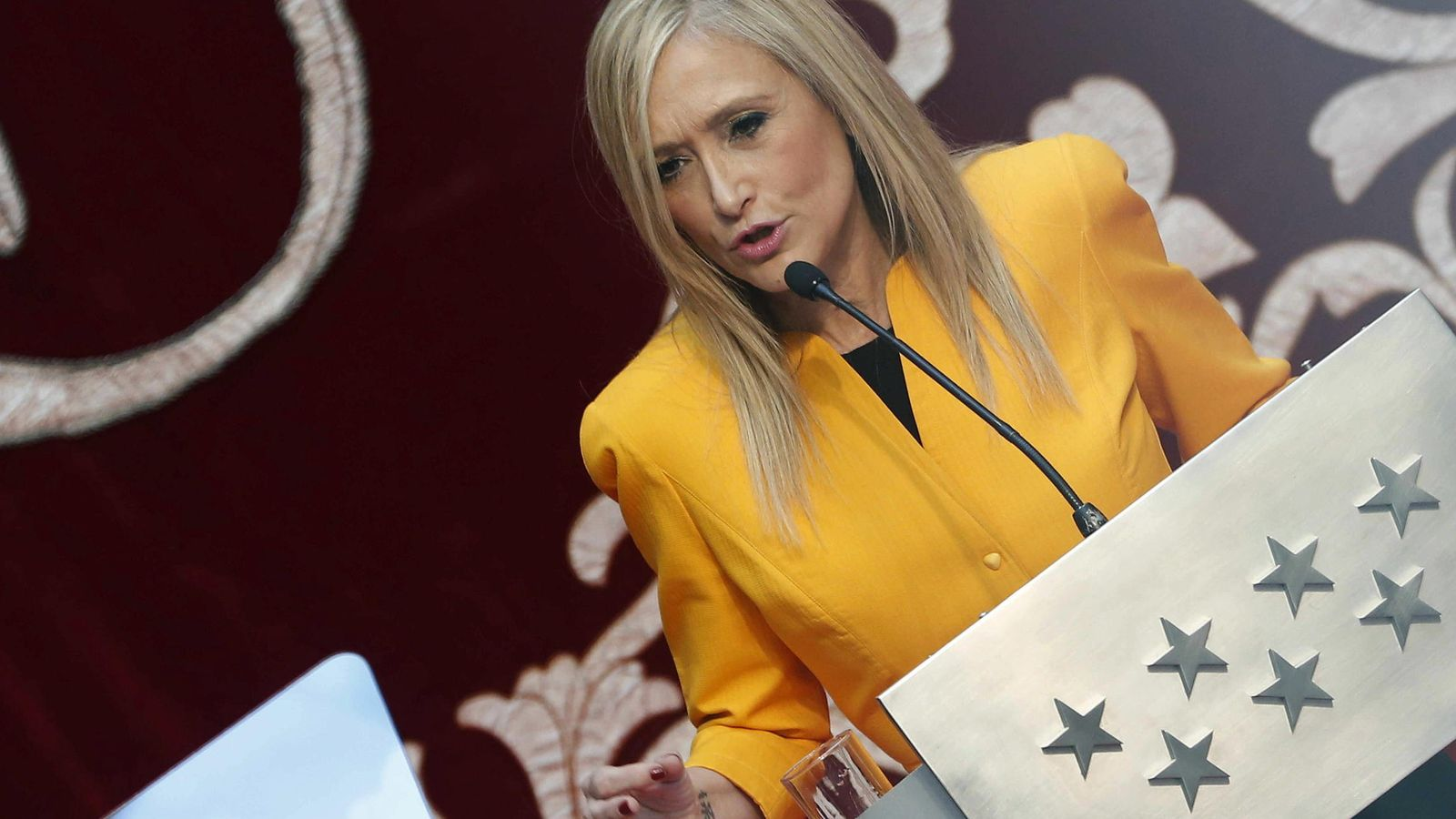 Foto: La presidenta de la Comunidad de Madrid, Cristina Cifuentes. (EFE).