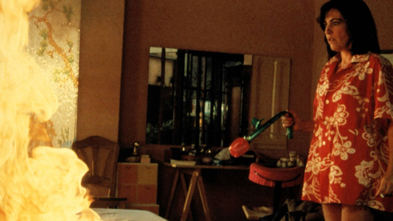 Carmen Maura, en un fotograma de 'Mujeres al borde de un ataque de nervios'. (CP)