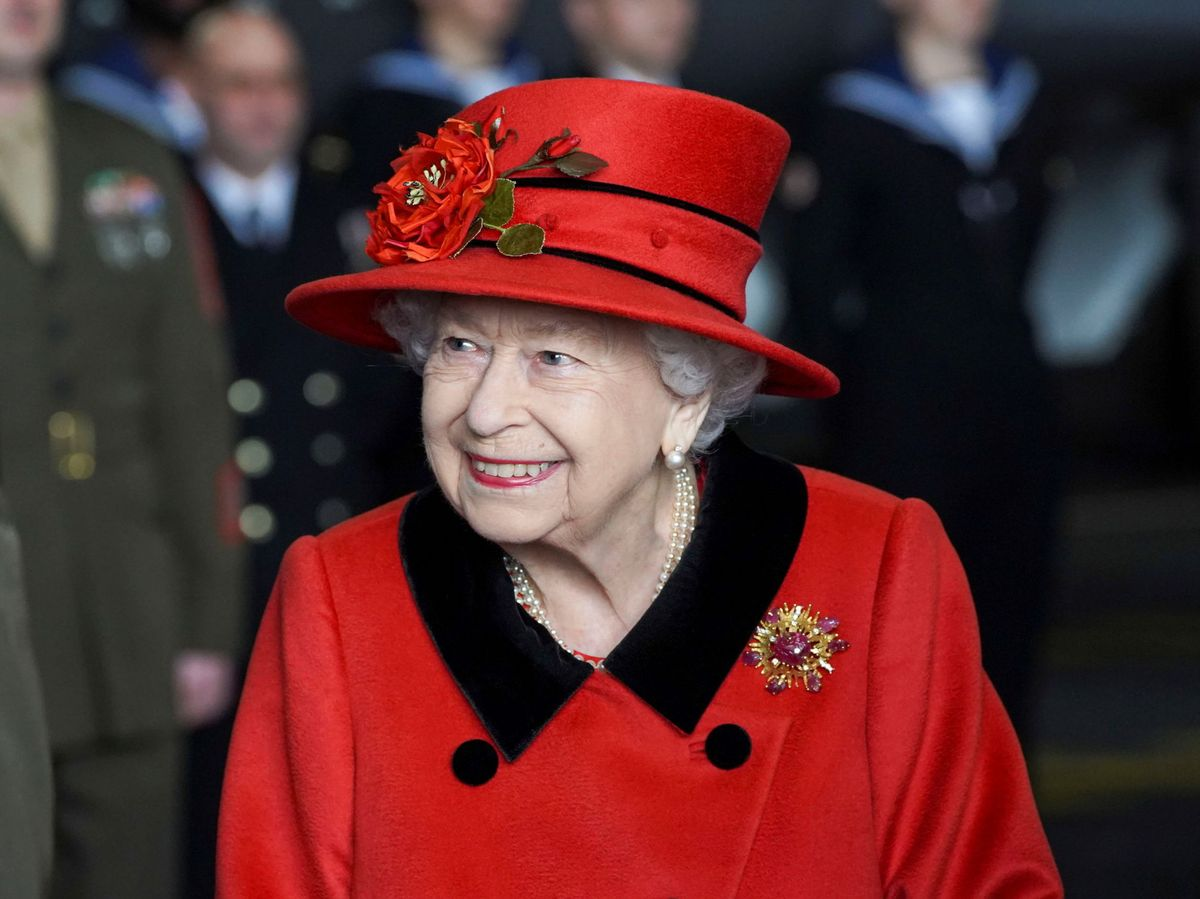 Foto: La reina Isabel, en una de sus últimas citas. (Reuters)