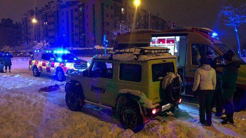 El equipo Suzuki, líder en ayuda solidaria en Madrid en la gran nevada