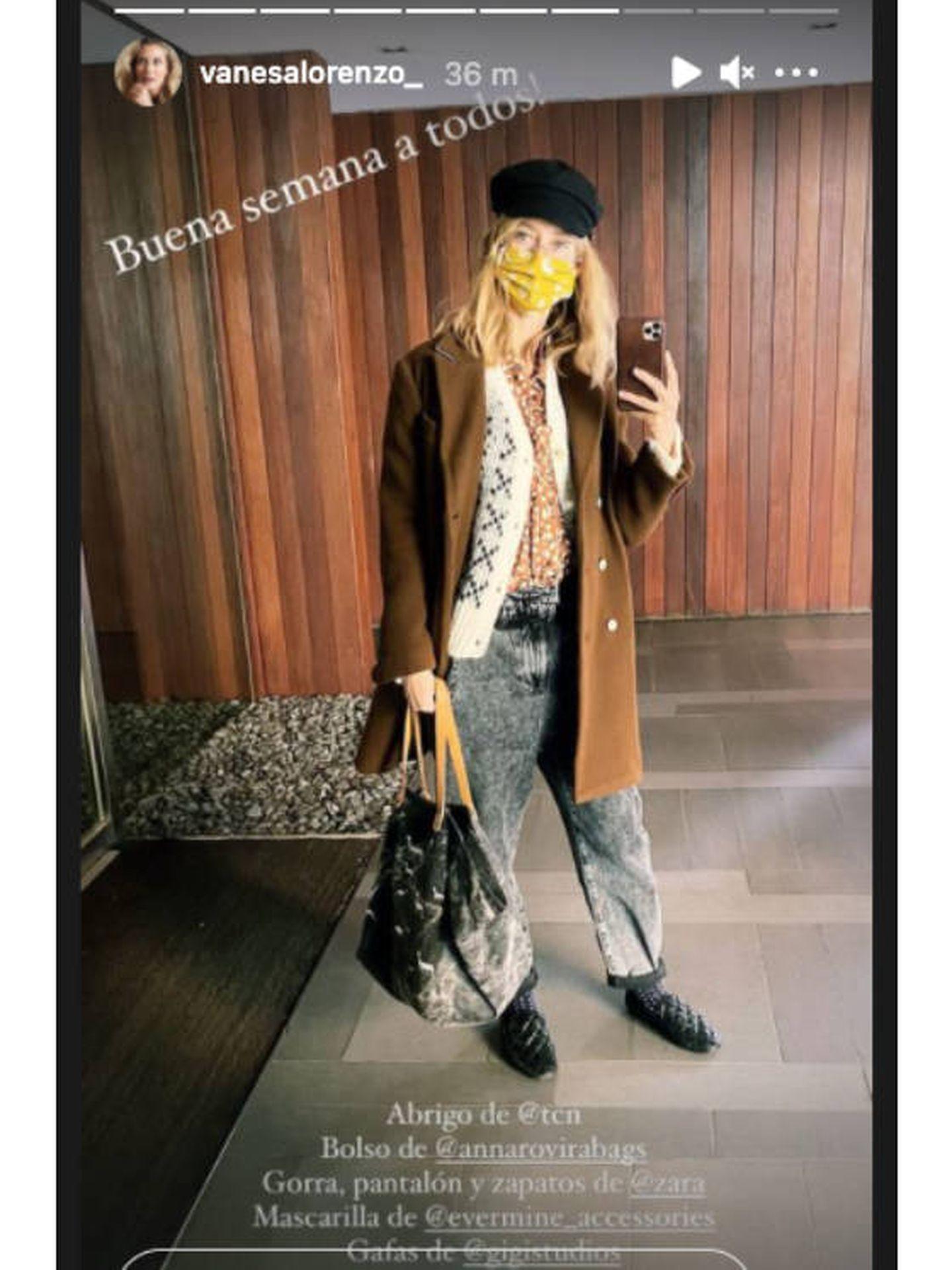 El nuevo look de Vanesa Lorenzo. (Instagram @vanesalorenzo_)