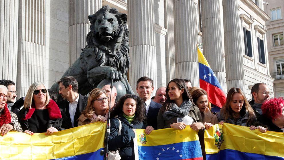 PP y Cs suben la presión a Sánchez y obligan al PSOE a retratarse sobre Venezuela