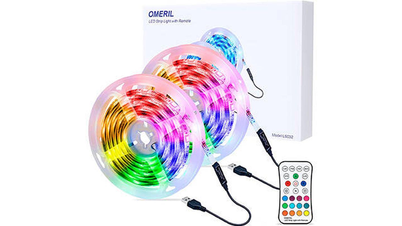 Tira LED RGB de 6 metros impermeable de OMERIL