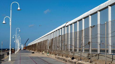 La crisis de Ceuta cuestiona la valla de 'peines' recién levantada por Maslaka con 32,7 M