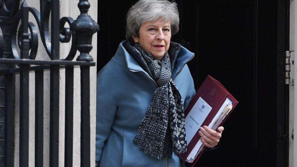 May pide una prórroga del Brexit hasta el 30 de junio y amenaza con elecciones europeas