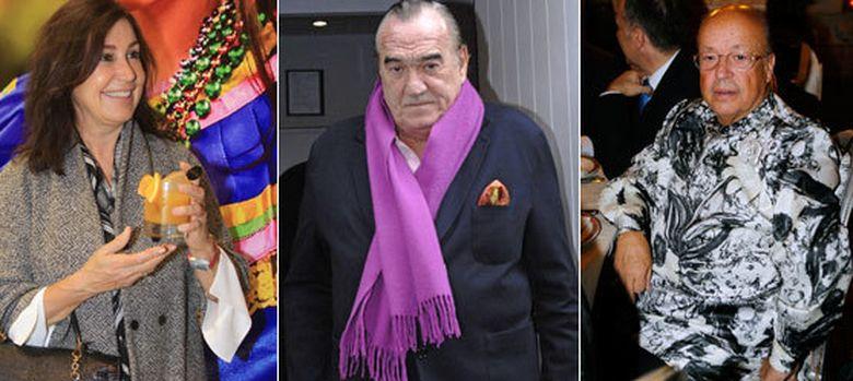 Foto: Carmen Martínez Bordiú, Fernández Tapias y Rappel pasan juntos la víspera de Reyes