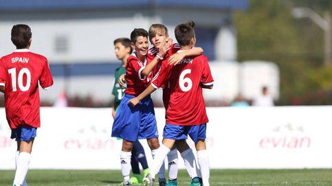 España no pasa de octavos en el torneo masculino de la Danone Nations Cup