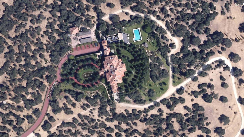 Vista aérea del Pabellón del Príncipe. (Google)