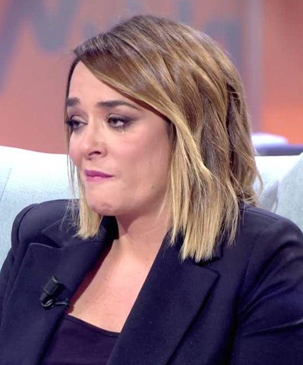 Foto: Toñi Moreno, en 'Viva la vida'. (Mediaset).