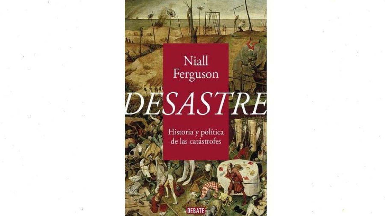 Portada de 'Desastre', a la venta a partir del 23 de septiembre. (Debate)