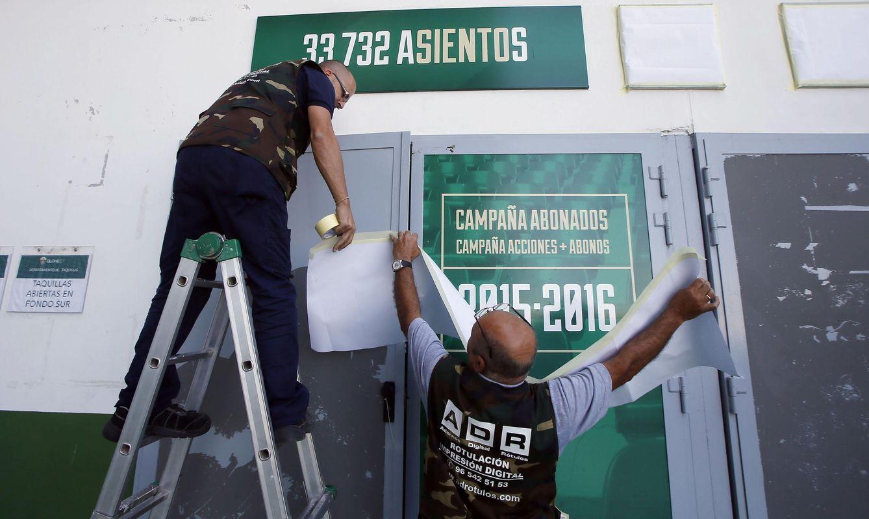 Foto: El Elche, pendiente de su descenso por deudas, ha sido de uno de los últimos equipos en lanzar su campaña de abonados (Efe)