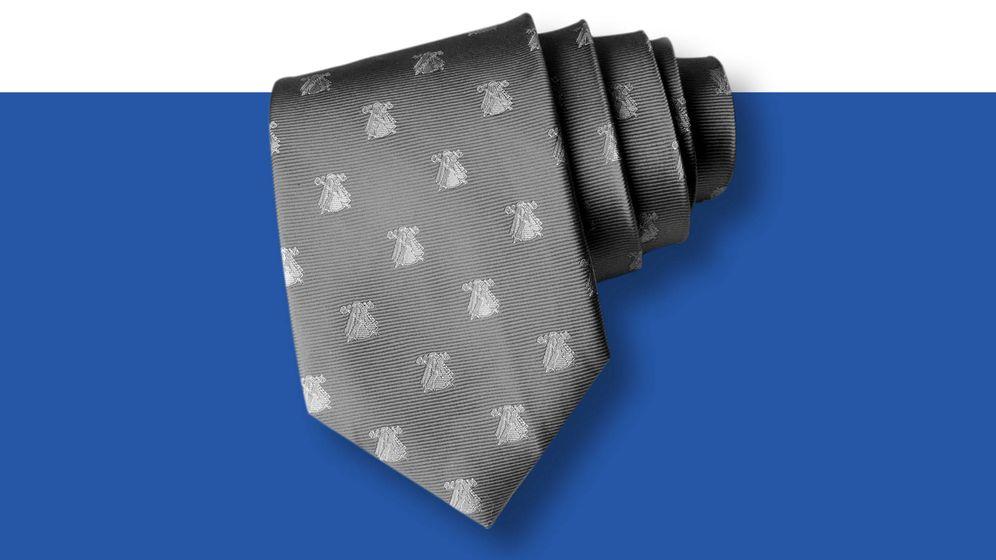 Foto:  Una de las corbatas del Rey. (Imagen de Vanitatis)