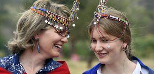 Post de Elizabeth de Bélgica: una 'princesa masái' que se 'estrena' ante los micrófonos