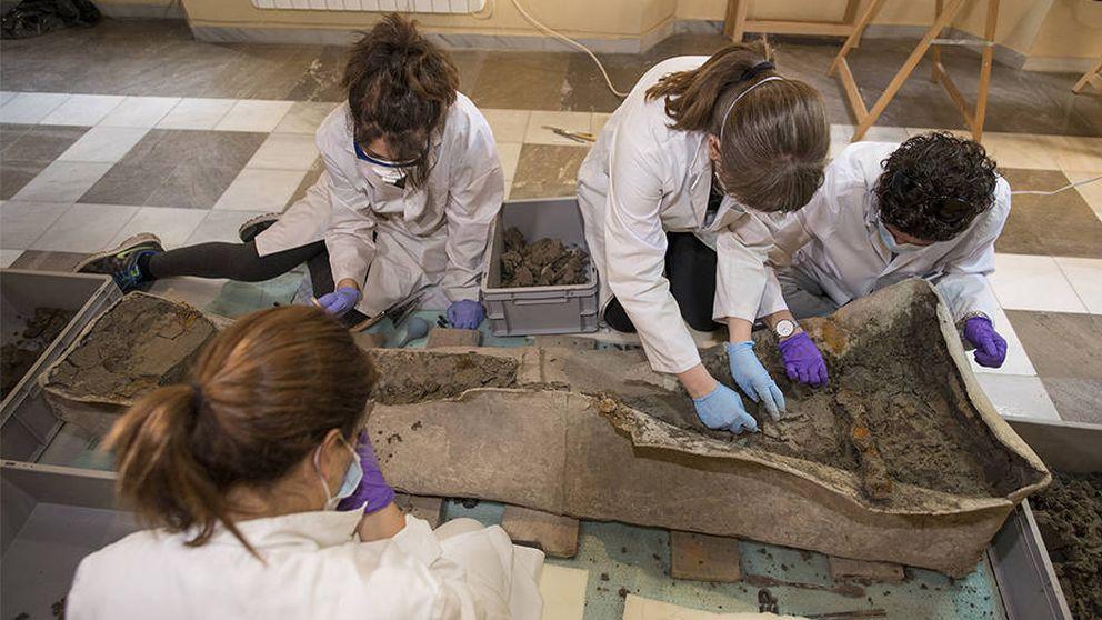 Preparan un proyecto para recuperar el sarcófago encontrado en Granada