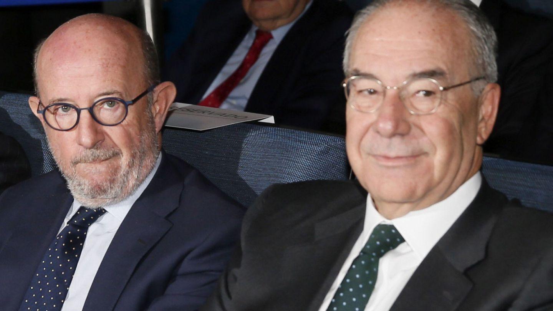 Emilio Saracho (i) y Antonio González-Adalid, exconsejeros de Popular. (EFE)