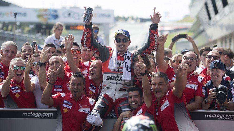Foto: Jorge Lorenzo ha ganado tres carreras esta temporada. (EFE)