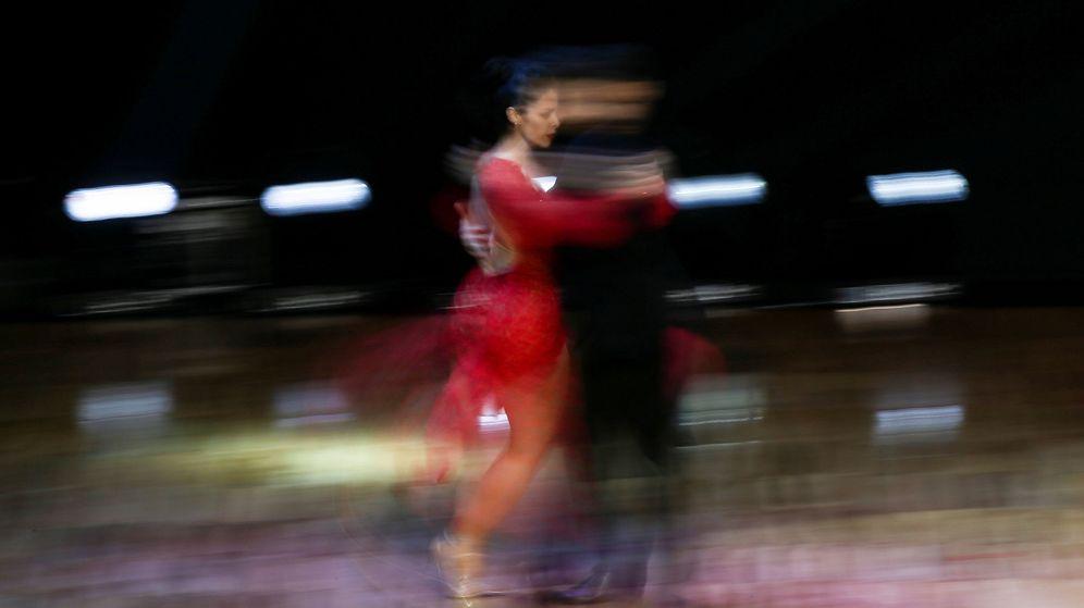 Foto: Bailarines de Tango (Efe)