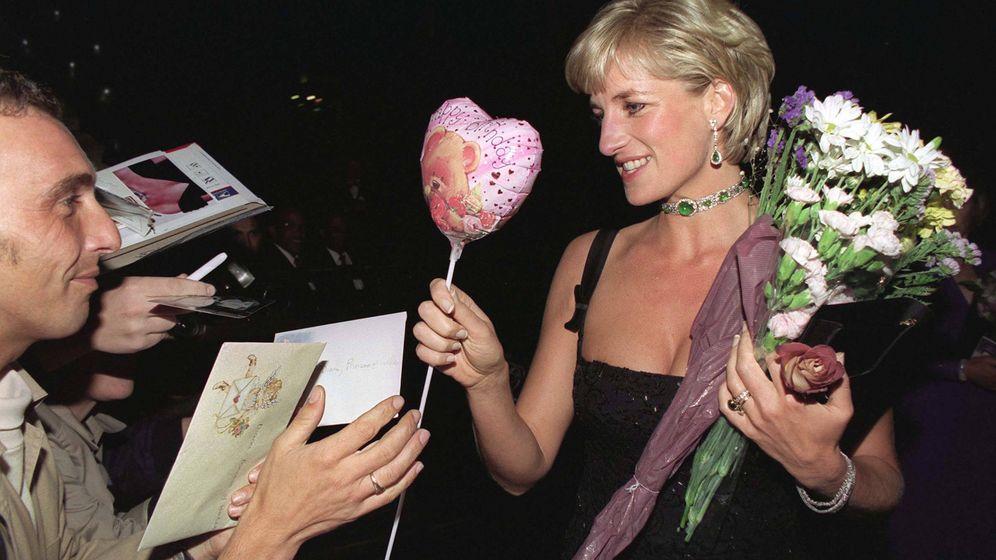 Foto: Lady Di, en su 36 cumpleaños. (Getty)