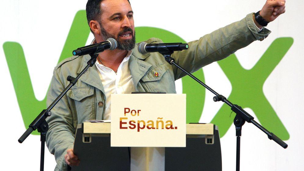 Foto: El candidato de Vox a la Presidencia del Gobierno, Santiago Abascal. (EFE)