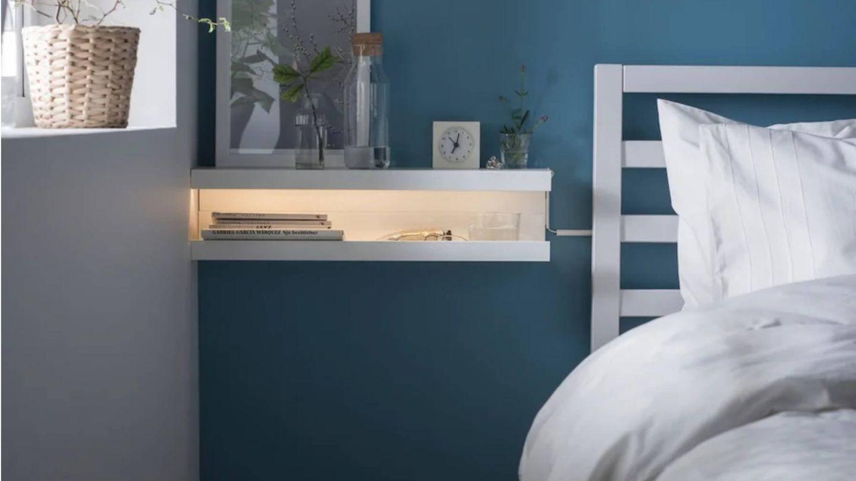 Una de las propuestas para reutilizar el estante de Ikea. (Cortesía)