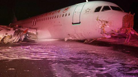 23 heridos leves durante el aterrizaje de otro airbus A320