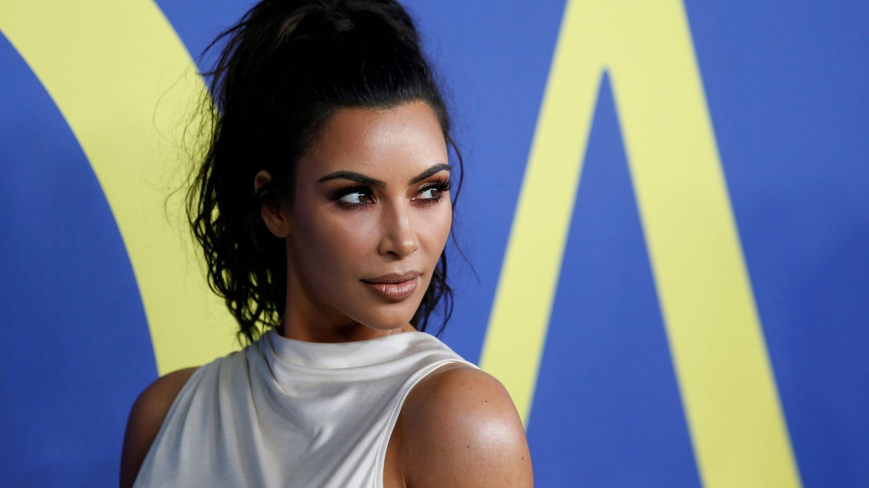 Kim Kardashian, en los CFDA Fashion Awards. (Reuters)