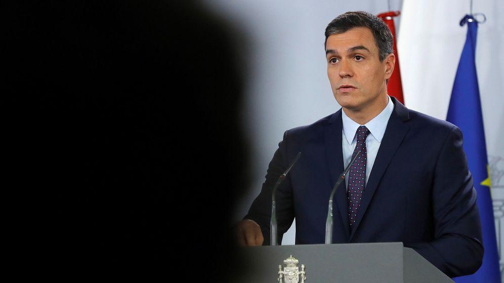 Foto: Pedro Sánchez, este 14 de octubre en la Moncloa. (EFE)
