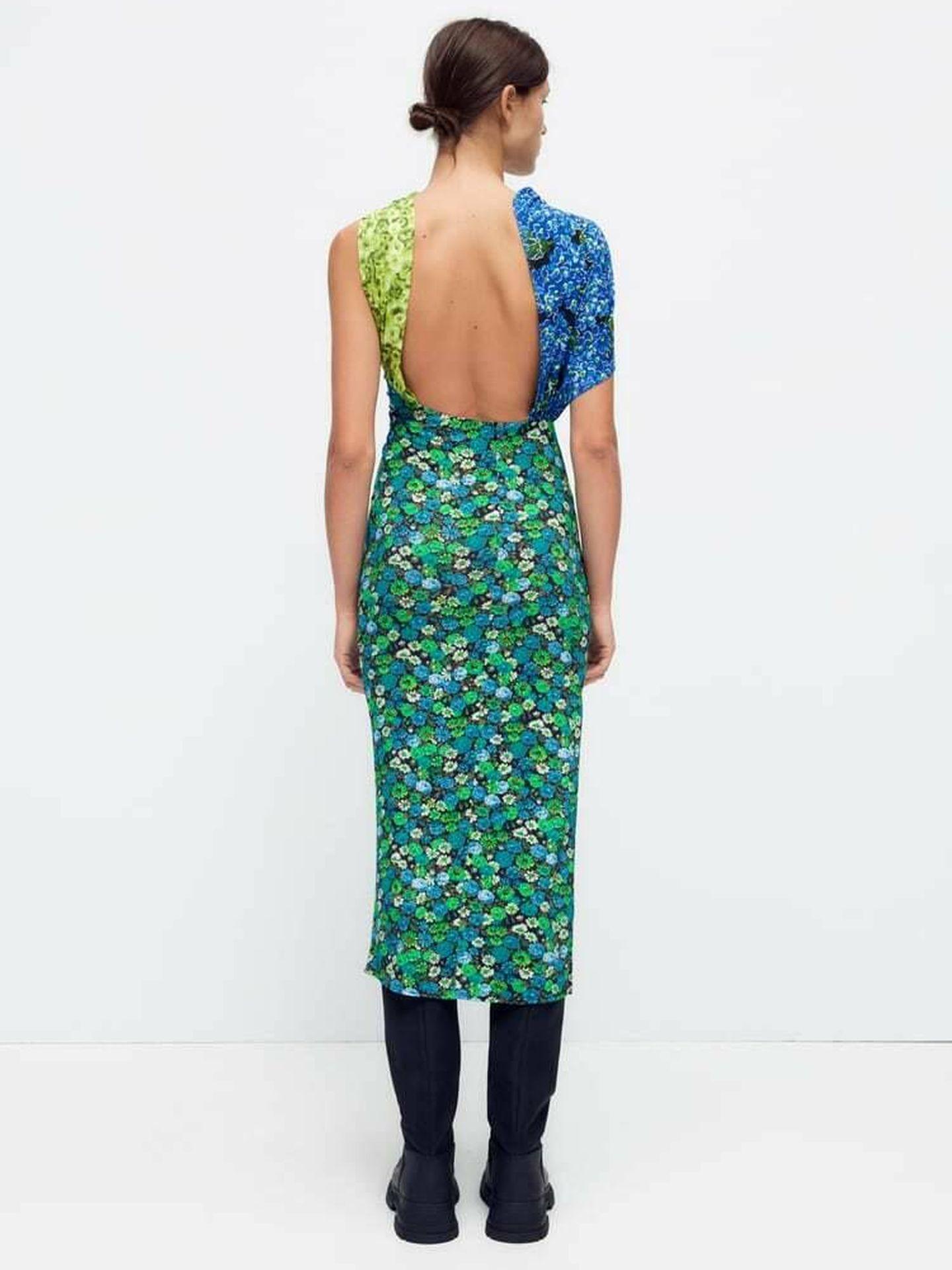 Un nuevo vestido low cost de Zara. (Cortesía)