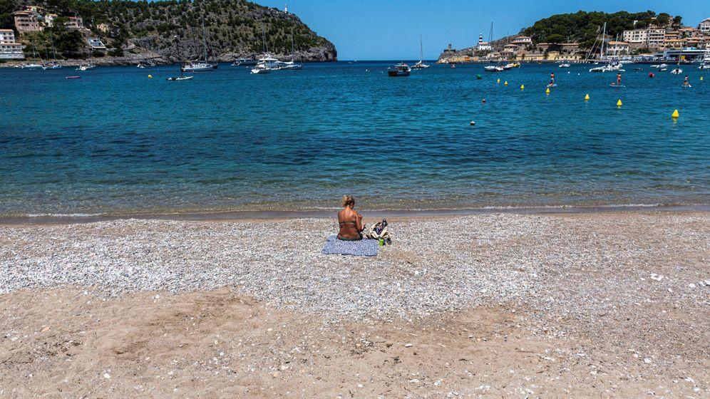 Foto: Las playas de Baleares seguían vacías a finales de junio. (EFE)