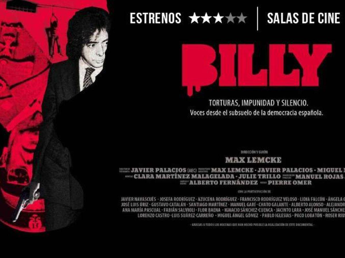 Foto: Cartel promocional de 'Billy'. (Begin Again Films)