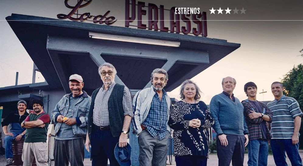 Foto: Ricardo Darín encabeza el reparto coral de 'La odisea de los giles'. (Alfa Pictures)