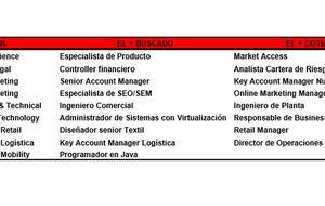 Los perfiles más buscados en 2014: ingeniero, diseñador y programador
