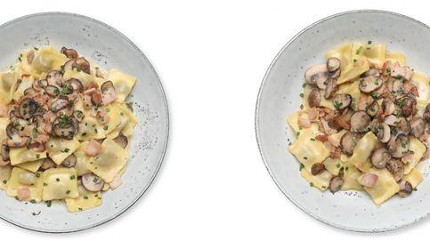 Un plato de los dos tiene el doble de calorías, ¿sabes cuál y por qué?