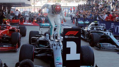 Hamilton sentencia el mundial en Rusia, Ferrari falla y Carlos Sainz acaba 6º