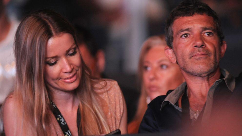Antonio Banderas y Nicoloe Kimpel, dos enamorados de concierto en Marbella