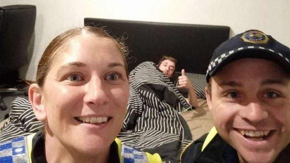 Foto: Policías de Tasmania. (Facebook)