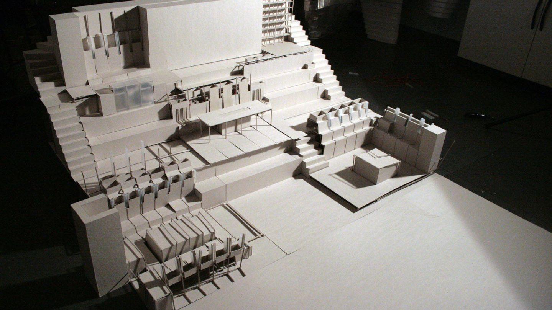 Maqueta de la casa (Foto: Pablo Gil y Jaime Bartolomé)