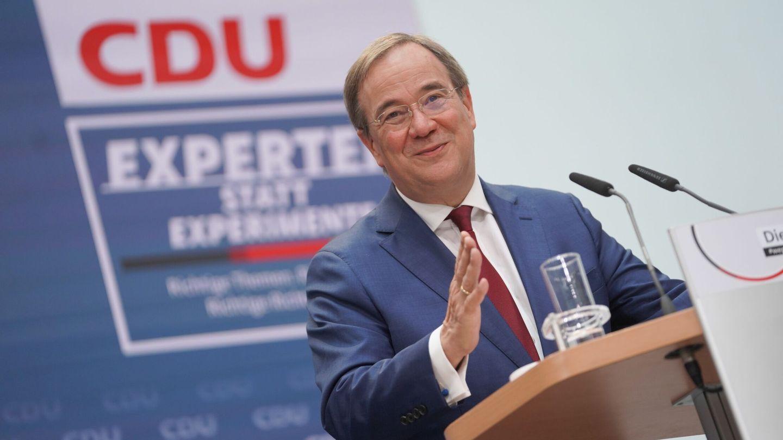 El candidato Armin Laschet. (Reuters)