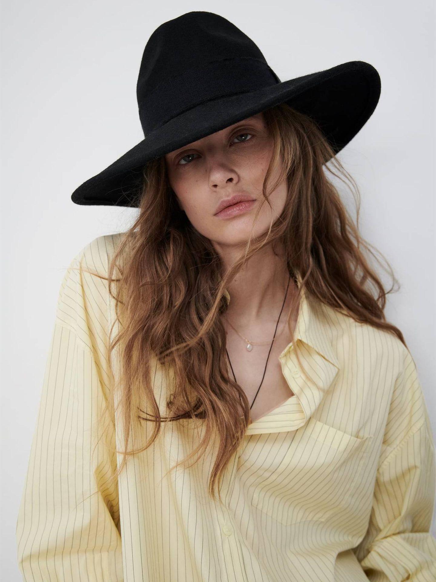 Sombrero de Zara. (Cortesía)