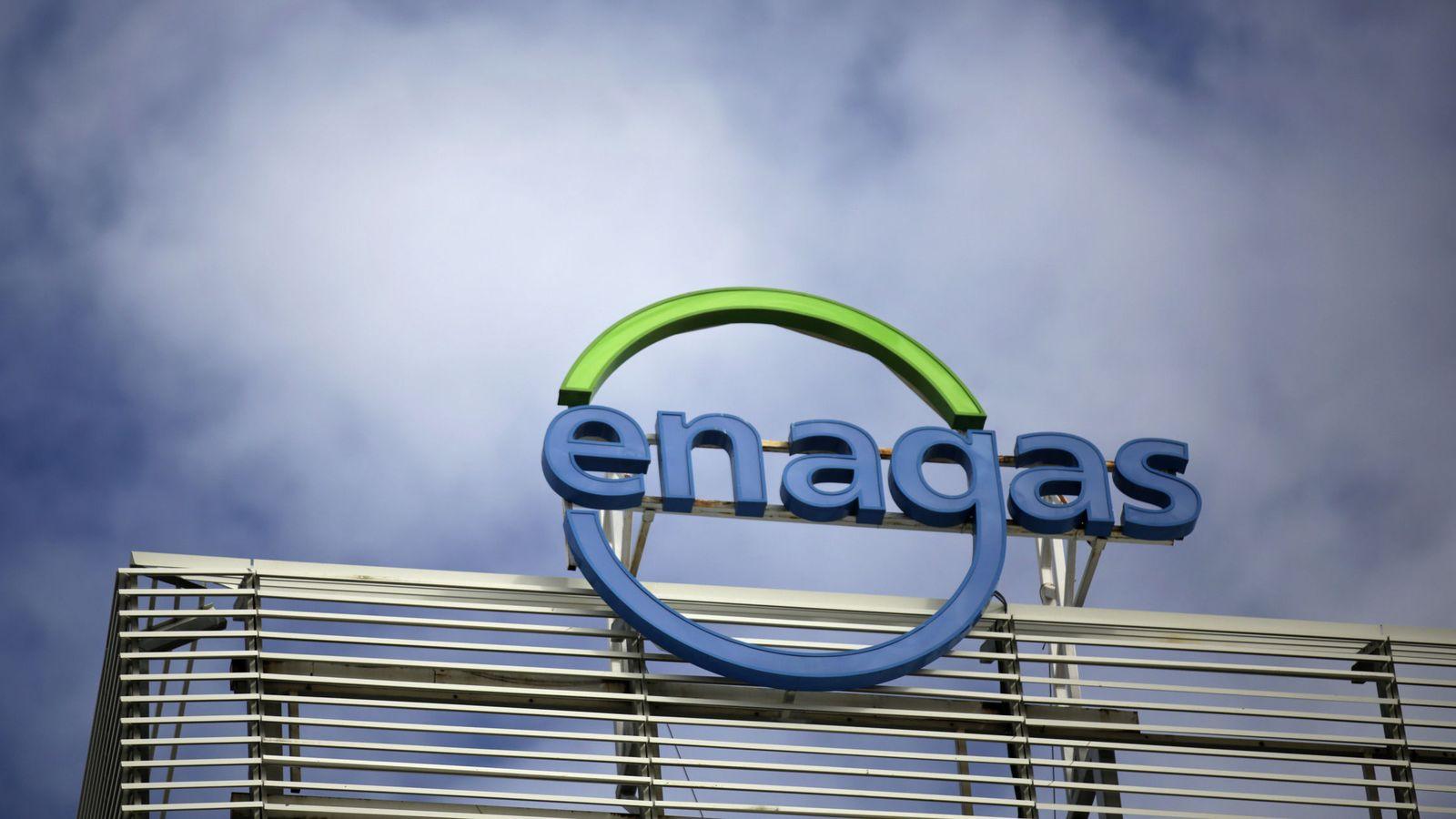 Foto: El logo de Enagás. (Reuters)